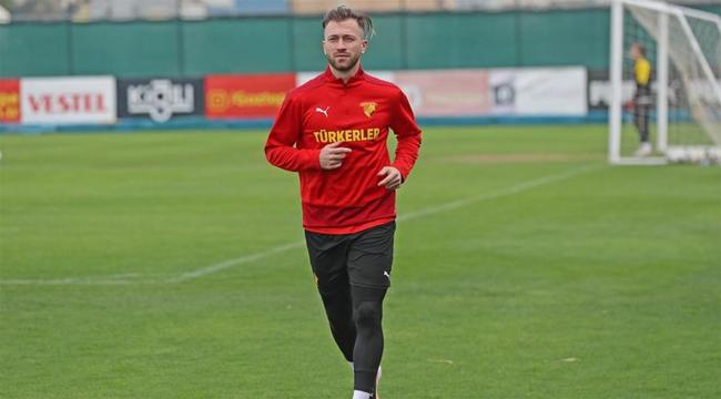 Göztepe'nin yeni transferi Peter Zulj ilk idmanına çıktı