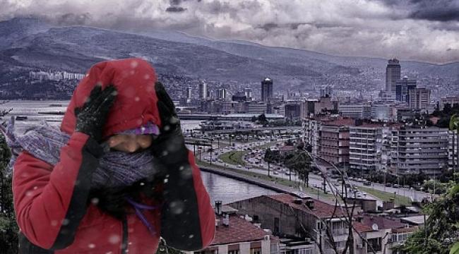 İzmir eksi dereceleri görecek!
