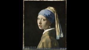 Vermeer'in 'İnci Küpeli Kız' tablosunun 10 milyar piksellik bir panoraması ortaya çıkarıldı