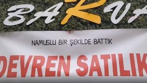 Trabzon'da dükkanını satışa çıkaran esnaf isyan etti: Pandemi sürecinde lebalep batırdınız bizi