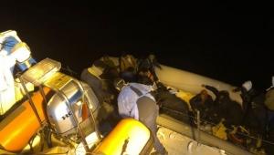 Dikili'de 64 kaçak göçmen kurtarıldı