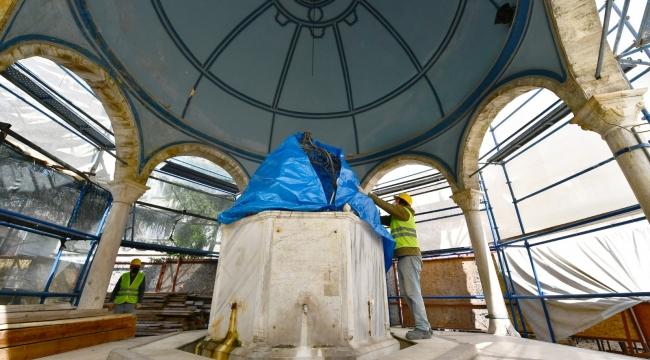 İzmir'de 193 yıllık Ali Paşa Şadırvanı restore ediliyor