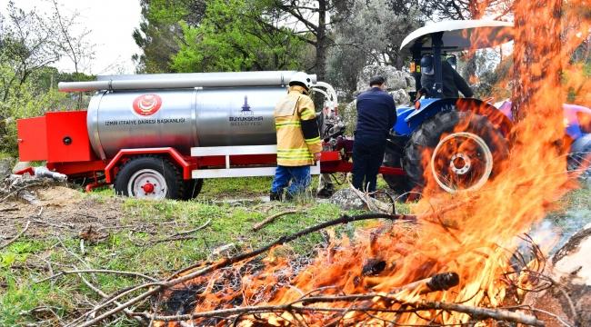 İzmir'de orman yangınlarıyla mücadele için hayati adım