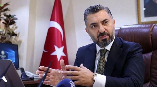RTÜK Başkanı Şahin: RTÜK Başkanlığı dışında Halk Bankası Yönetim Kurulu üyeliğimden maaş alıyorum; bu da yasal ve etiktir