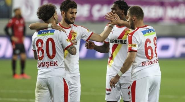 Gençlerbirliği - Göztepe maçında gol yağmuru! 8 gol birden...