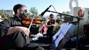 Açık havada klasik müzik keyfi