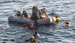 Ege kıyılarında 6 ayda 6 bin göçmen