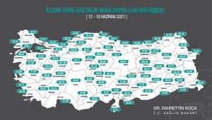 Fahrettin Koca haftalık vaka sayılarını açıkladı