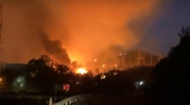 Alevler Kemerköy Termik Santrale sıçradı!