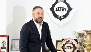 Altay Başkanı Özgür Ekmekçioğlu projelerini açıkladı