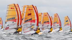 Rüzgar sörfünde Urla'ya Avrupa şampiyonluğu