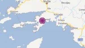 Muğla Marmaris açıklarında deprem: AFAD büyüklüğünü açıkladı