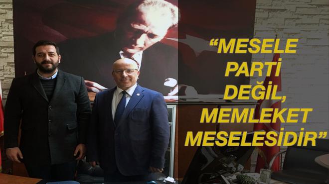 CHP'li Fırat: 'Mesele Parti meselesi değil, Memleket meselesidir'
